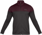 Under Armour Sportstyle Pique Track Jacket Red / Black