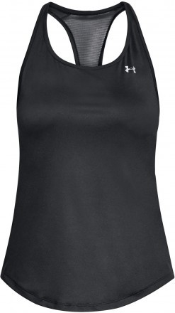 Under Armour Mesh Back Tank Black