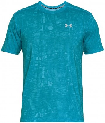 Under Armour Streaker Printed Short Sleeve Crew Blue