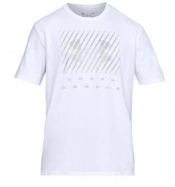 Under Armour Branded BL Short Sleeve White