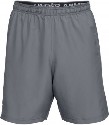 Under Armour Woven Graphic Wordmark Short Grey