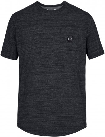 Under Armour Sportstyle Pocket Tee Black