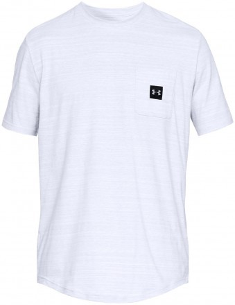 Under Armour Sportstyle Pocket Tee White