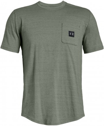 Under Armour Sportstyle Pocket Tee Green