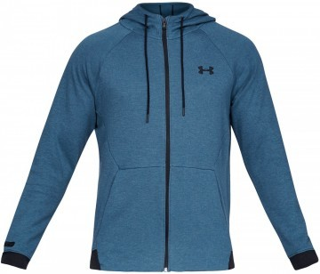 Under Armour Unstoppable 2x Knit FZ Blue