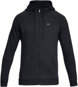 Under Armour Rival Fleece Full Zip Hoodie Black