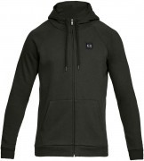 Under Armour Rival Fleece Full Zip Hoodie Green