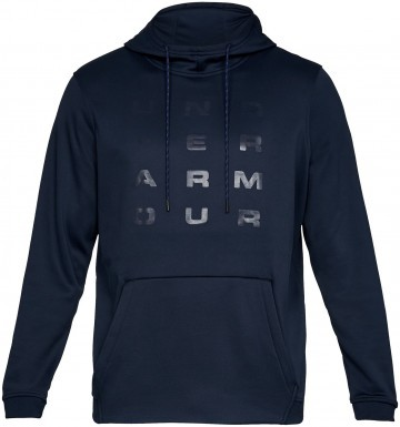 Under Armour Fleece Tempo Po Hoodie Navy