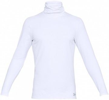 Under Armour Fitted ColdGear©  Funnel Neck White