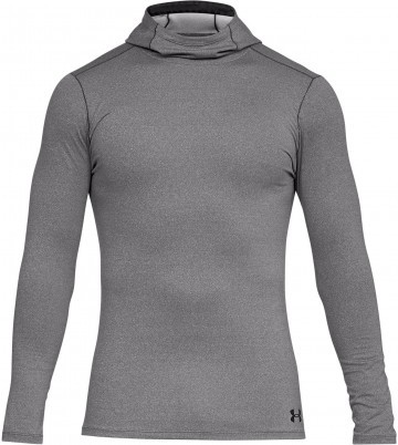 Under Armour Fitted ColdGear Hoodie Grey