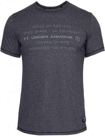 Under Armour Sportstyle Tri-Blend Graphic Black