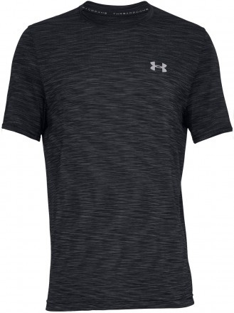 Under Armour Vanish Seamless Short Sleeve Black