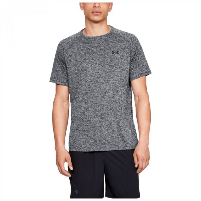 Under Armour Tech 2.0 SS Tee Black Melange