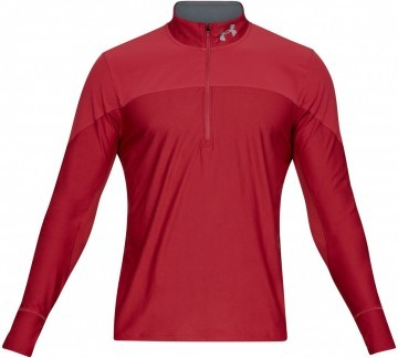 Under Armour UA Qualifier Half Zip Red