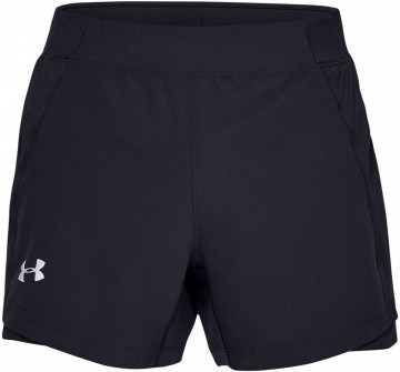 Under Armour UA Qualifier Speedpocket 5'' Short Black