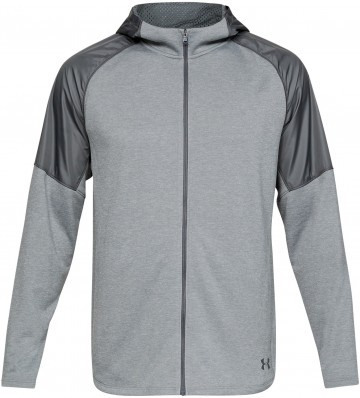 Under Armour MK1 Terry FZ Hoodie Gray