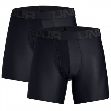 Under Armour Tech 6in 2Pack Black