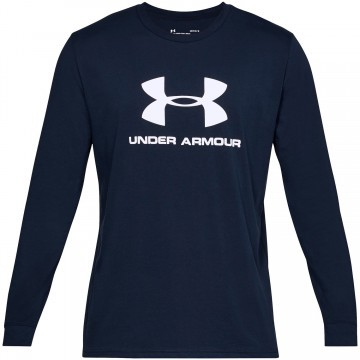 Under Armour Sportstyle Logo LS Navy