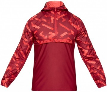 Under Armour Sportstyle Woven Layer Red