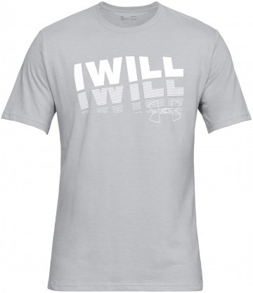Under Armour UA I Will 2.0 Short Sleeve Grey