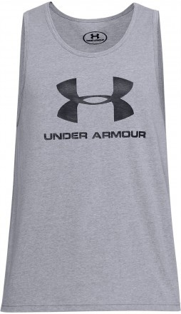 Under Armour Sportstyle Logo Tank Black