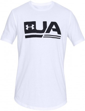 Under Armour UA Sportstyle Short Sleeve Drop Hem Black