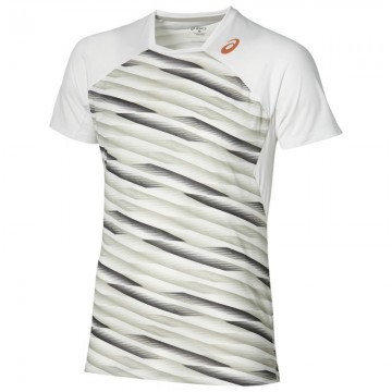 ASICS Athlete SS Top White