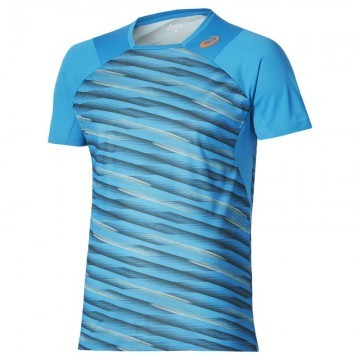 ASICS Athlete SS Top Blue