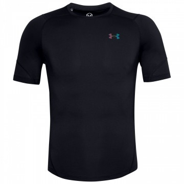 Under Armour Rush HeatGear 2.0 Compression SS Tee Black