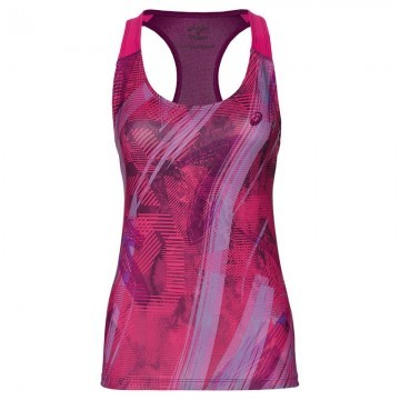 ASICS Fitted GPX Tank Red / Violet