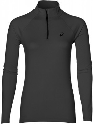 bluza damska Asics Long Sleeve 1/2 ZIP Jersey Black