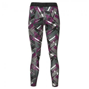 ASICS Base Tight Performance 7/8 Black Power Print - Legginsy