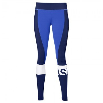 ASICS Color Block Tight Blue / Navy - Legginsy