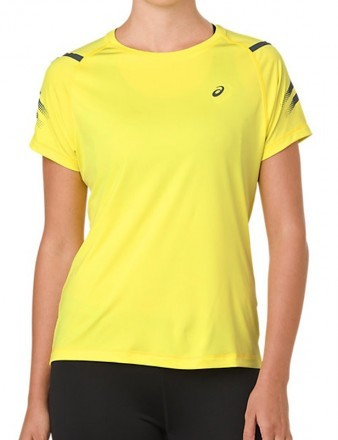 Asics Lite-Show Short Sleeve Top Lemon Spark