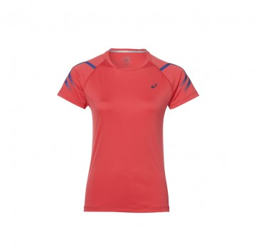 Asics Icon Short Sleeve Top Pink
