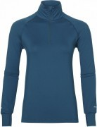 bluza damska Asics Thermopolis Long Sleeve 1/2 Zip Aqua