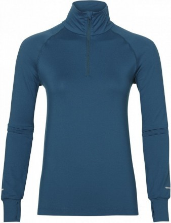 Asics Thermopolis Long Sleeve 1/2 Zip Aqua