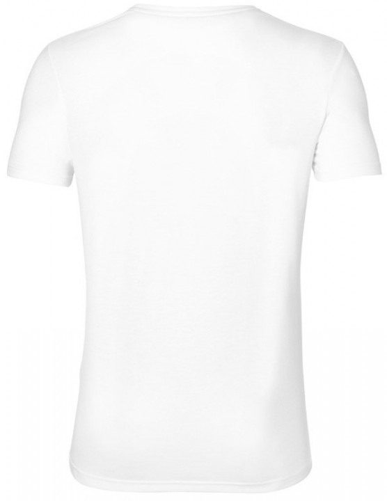 Asics Graphic Short Sleeve Top White