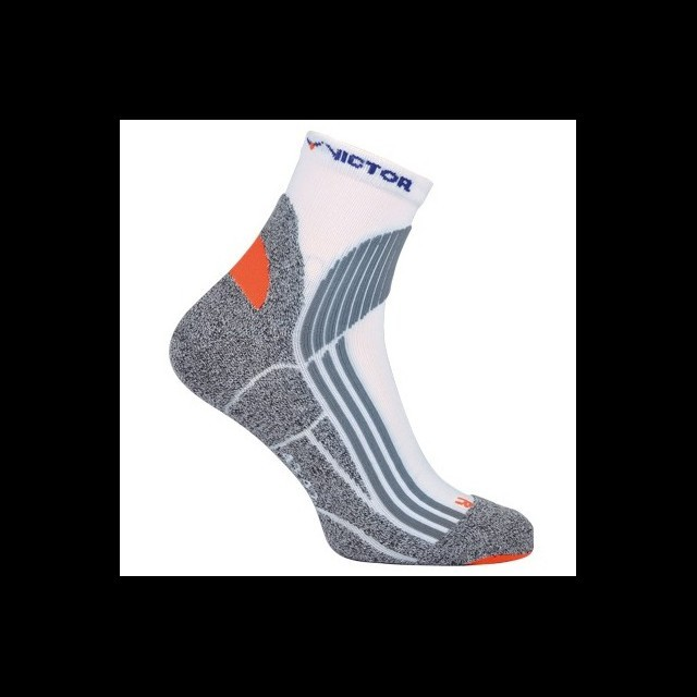 Victor Indoor Explosion Socks 2P White / Gray