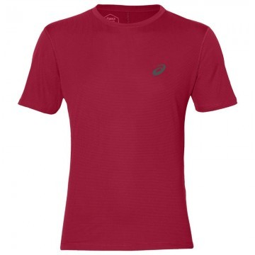 ASICS Silver Short Sleeve Top Samba
