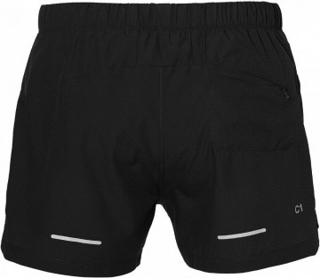 Asics Cool 2in1 5in Short Black