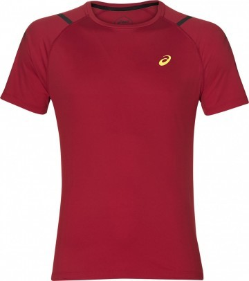 Asics Icon Short Sleeve Top MP Classic Red