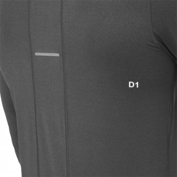 Asics Long Sleeve 1/2 Zip Jersey Dark Grey