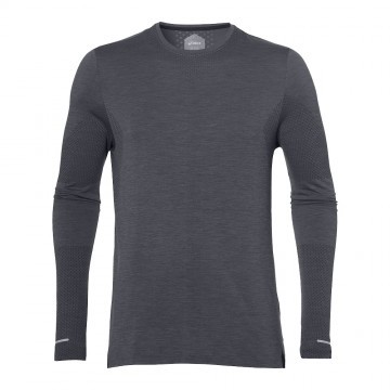 Asics Seamless Long Sleeve Dark Grey Heather