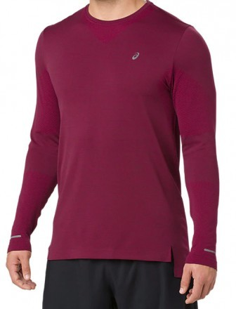 Asics Seamless Long Sleeve Cordovan