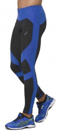Ascis Leg Balance Tight 2 Black Blue