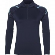 bluza damska Asics Icon Winter Long Sleeve 1/2 Zip Top Navy