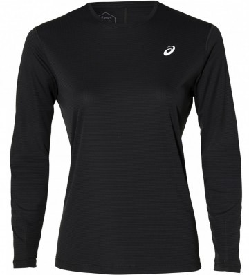 Asics Silver Long Sleeve Top Performance Black