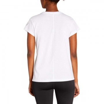 ASICS SMSB Graphic Tee II Brilliant White