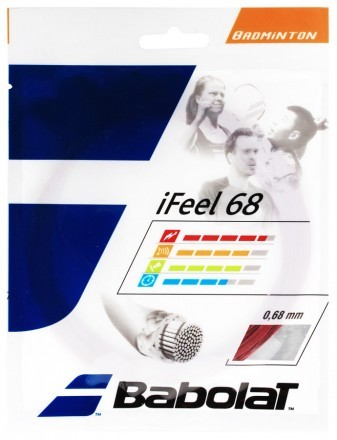 Babolat iFeel 68 Red - Set 10,2m